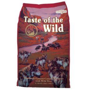 Sac de hrană uscată pentru câini Taste of the Wild, Southwest Canyon
