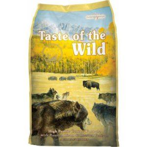 Sac de hrană uscată pentru câini Taste of the Wild, High Prairie Puppy