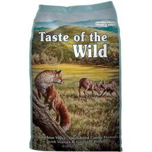 Sac de hrană uscată pentru câini Taste of the Wild Appalachian Valley, Small Breed