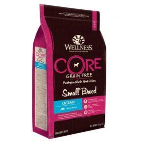 Sac de hrană uscată Wellness Core Grain Free, Ocean, Small Breed