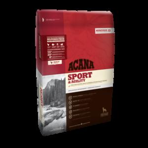 Sac de hrană uscată pentru câini ACANA Sport & Agility