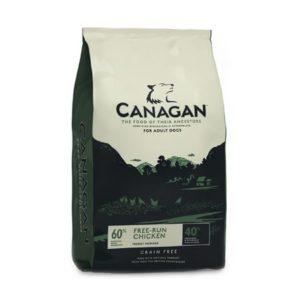 Sac de hrană uscată pentru câini Canagan Grain Free, Pui