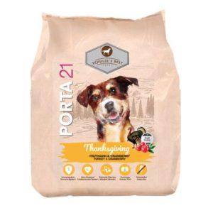Sac de hrană uscată pentru câini 21 Schulze's Best Thanksgiving - Curcan si Merișoare