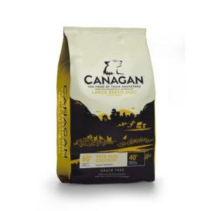 Sac de hrană uscată Canagan Grain Free Large Breed cu Pui