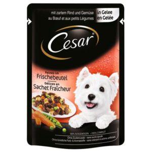 Hrană umedă plic Cesar cu vită în aspic