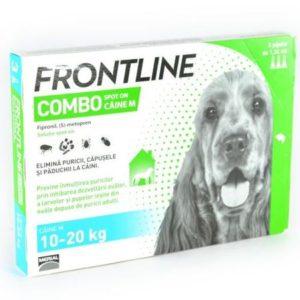 Soluție antiparazitară Frontline Combo, M